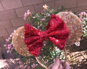 Sequin Belle Inspired Mouse Ears