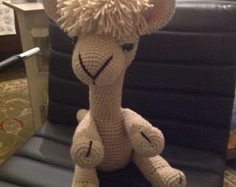 Crocheted Alpaca
