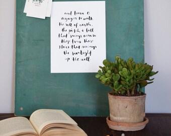 printable poetry: the seafarer
