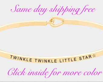 The inspired bangle ( twinkle twinkle little star )