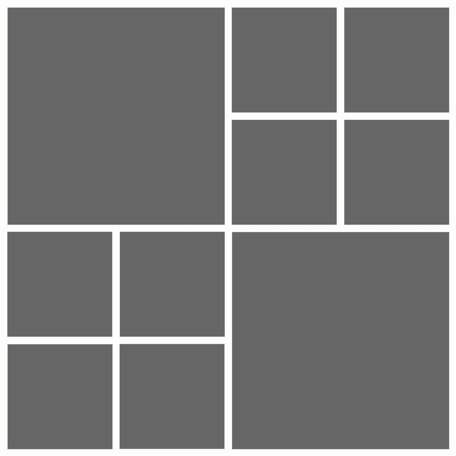 Instant Download 12x12 Storyboard Photographers Template
