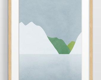 Extra Large Wall Art Print, Oversized Art, Modern Abstract Art, Office Decor, Minimalist Art, Fine Art Print