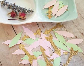 Feather and arrow confetti/Boho wedding decor/Wild one birthday decor/Table confetti/Tribal party decorations/Arrow and feather confetti