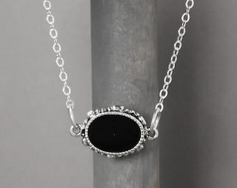 Black Tourmaline Necklace, Black Necklace, Tourmaline Jewelry, Root Chakra, Chakra Necklace, Chakra Jewelry, Energy Necklace, Metaphysical
