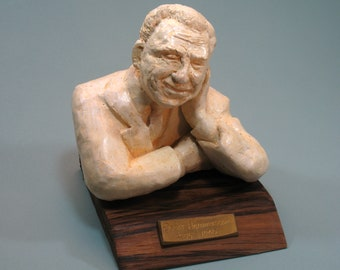 Hammerstein, Oscar --the lyricist and NOT the grouch! Hydrocal bust