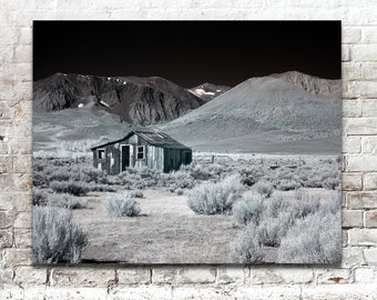 Landscape Photos, Desert Photography, Infrared Photos, Scenic Photos, California, Black White Photography, Wall Art