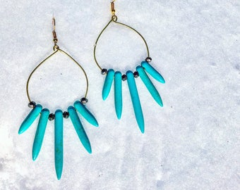 Phoenix Ice Earrings