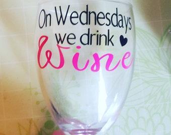MEAN GIRLS Wine Glass