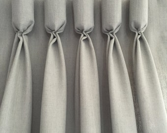 Custom Linen/Poly Drapery Panels