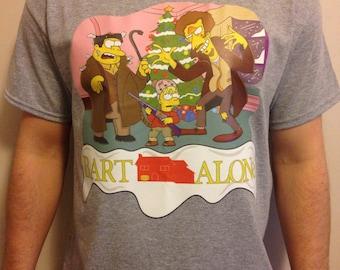 Bart Simpson X Home Alone T-Shirt