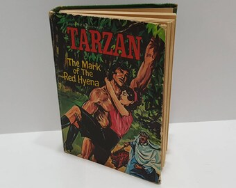 1960s Vintage Big Little Book Tarzan The Mark of the Red Hyena