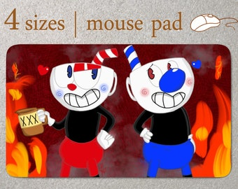 Cuphead birthday Mouse Pad Computer Accessory