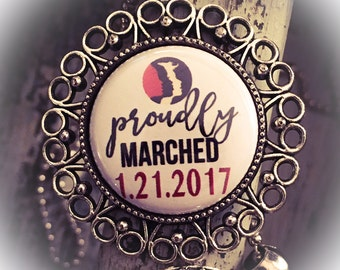 Women's March on Washington Necklace, Nasty Woman, Jewelry, March on Washington,  Womens March,  Nasty Woman Jewelry, Women's Rights, Human
