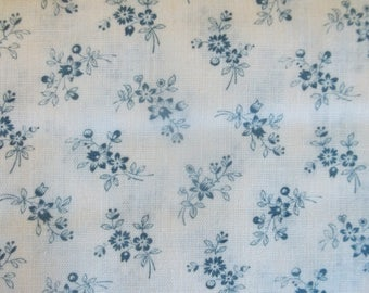 Country Gardens Calico Print Fabric