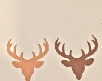 Cardstock Buck Deer Table Confetti