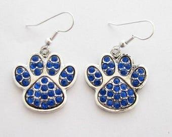 University of Kentucky PAW Earrings