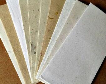 10 READY TO SEAL envelopes 9.25x4 inch business envelopes, letter envelopes, homemade paper, handmade envelopes, eco friendly, recycled