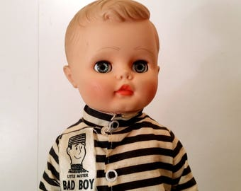 Vintage Little Mister Bad Boy Doll Made By Earle Pullan 1960's