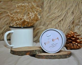 Milk & Honey - 4oz Candle - Rupi Kuar - Scented Soy Candle - Book Lover Gift