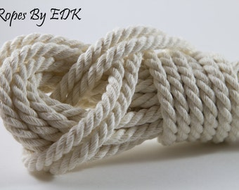 Bondage Rope White Hemp Shibari Rope