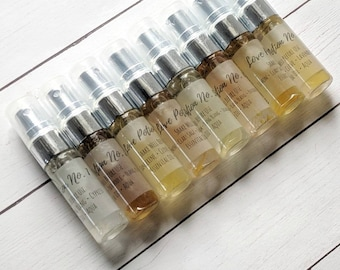 Bridesmaid Gifts - Perfume Gift Set - Natural Perfume - Essential Oil Spray - Gift Box for Her - Essential Oil Sprays - Gift Box for Women