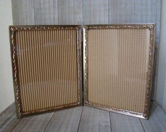 8 X 10 Gold Frames, Ornate Frames, Unique Frames, Wedding Frames, Nursery Frames, Vintage 8 X 10 Frames, 8 x 10 Metal Frames