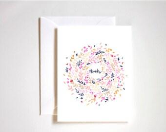 Thank You Card / Greeting Card / Blank Card