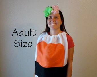 Adult Sushi Costume Adult Halloween Costume Sushi Halloween Teen Costume Couples Cosplay Shrimp Sushi Costume Carnaval Carnival Fancy Dress