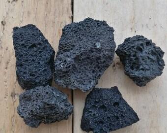 Lava rock Volcano Stones for Terrarium Fairy Garden Landscapes Aquarium Vivarium Crafts