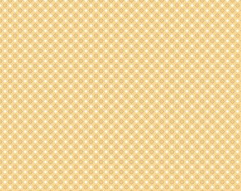 Autumn Love by Lori Holt Polka Dots Yellow (C7367-YELLOW)