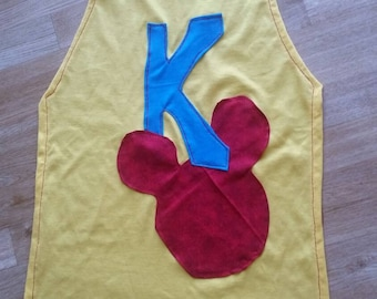 Custom superhero Mickey Mouse cape