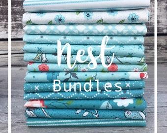 Nest Blues Bundle by Lella Boutique - Moda
