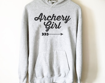 Archery Girl Hoodie - Archery Shirt, Archery, Archer, Archery Gift, Archery Bow, Archer Shirt, Archery Target