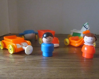 Vintage Fisher Price Little People Little Riders