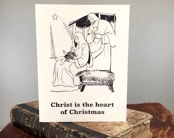 Christmas Parts - Funny Christmas Card, Funny Jesus, Jesus Humor, Snarky Greeting Card, Funny Religious, Jesus Greeting Card, Snarky Card