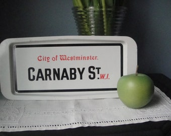 Vintage Carnaby St tray