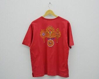Lancel Shirt Men Size S/M Vintage Lancel T Lancel Vintage Embroidered Relaxed T Made in Japan