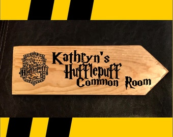 Hufflepuff Common Room Sign