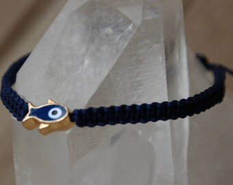 shamballa bracelet with fish bead