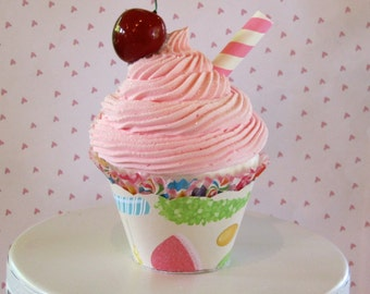 Candy Land Fake Cupcake Photo Prop Candyland Inspired Birthday Decor I Heart Candyland Candy Buffet Decor