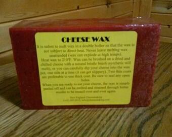 1 lb red cheese wax food grade wax
