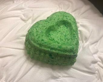 Eucalyptus Spearmint Heart Bath Bomb