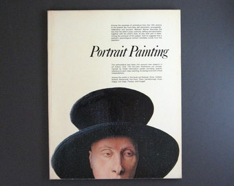 Portrait Painting - Phaidon Art History Book - Renaissance Art to Modern Art - Vintage Portrait Art Print Book - Large Coffee Table Book
