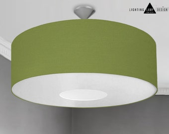 Large drum lampshade etsy pendant lampshade large oversized 70cm drum ceiling lightshade lampshade with diffuser choice of colours aloadofball Choice Image