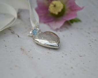 Bridal Bouquet Memory Locket