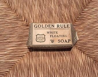 Golden Rule White Floating Soap