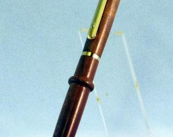 24kt Gold Artisan Click Pen - Cherry