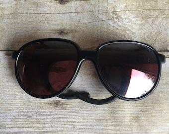 Vintage Black Sunglasses