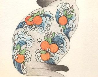 Orange Blossom Cat