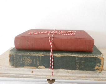 Vintage book bundle, vintage books for decor